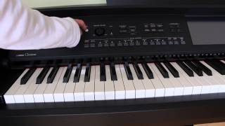 Yamaha Clavinova CVP-609 CVP-605 How to Update Firmware Version 1.21 is now available