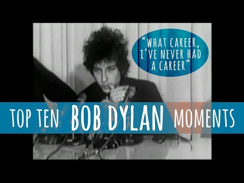 BOB DYLAN Top 10 Moments from Interviews
