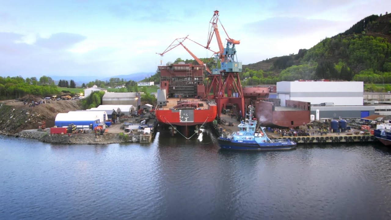 Launch Of Build No 365 From Kleven Verft Youtube