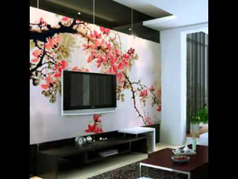 Cherry blossom bedroom decor - YouTube