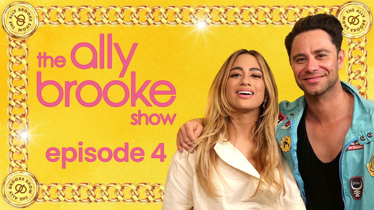 Reunited with my DWTS Partner Sasha! | S1 E4 | The Ally Brooke Show