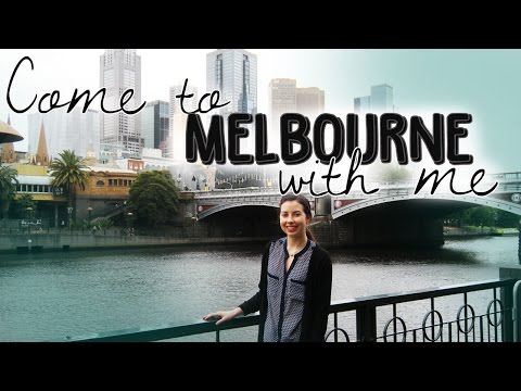 Melbourne Travel Vlog 2015
