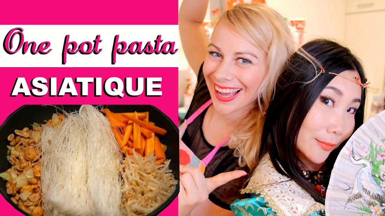 One pot pasta asiatique virginie fait sa cuisine 26 youtube - Virgine fait sa cuisine ...