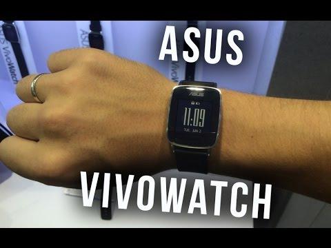 ASUS VivoWatch — смарт-часы, работающие до 10 дней | Computex 2015 - Keddr.com