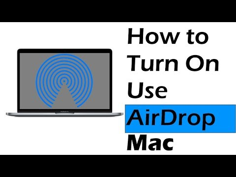 How to Turn on Airdrop on Mac Between iPhone, iPad: Use Airdrop on Mac OS Catalina, Mojave, Sierra