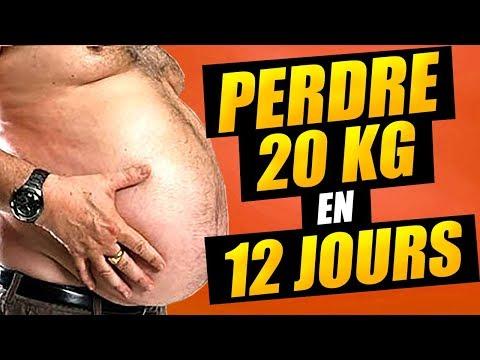 Programme pour perdre 20 kg en 12 jours ?