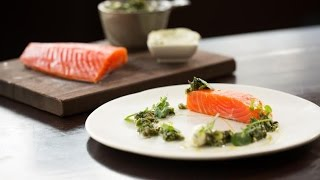 Home Cured Huon Ocean Trout recipe by Ashley Davis from Pure South