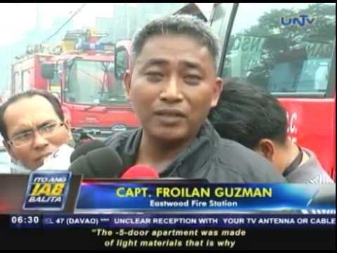 P1.5 milyong halaga ng ari-arian, nasunog sa Quezon City