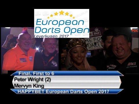 European Open Darts 2017 Final Peter Wright - Mervyn King