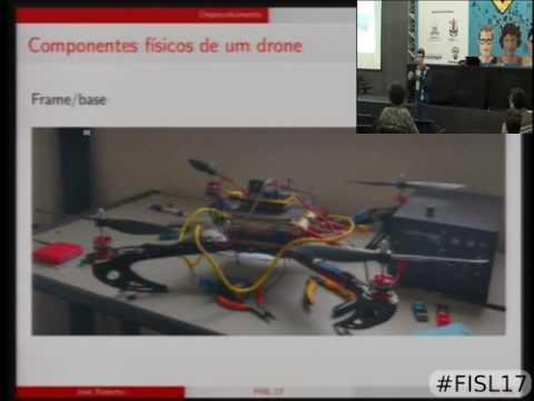 Sistema de controle de atitude de um drone com software livre