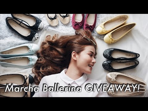 Marcha Ballerina Shoes Giveaway +  My Picks! | Janeena Chan