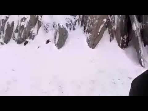Amazing Kazakh !!! Today Jojila pass snow fall