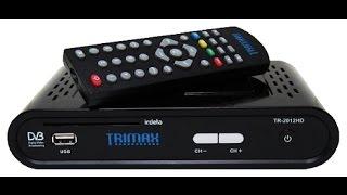 trimax TR 2012 HD. Автоматический поиск каналов