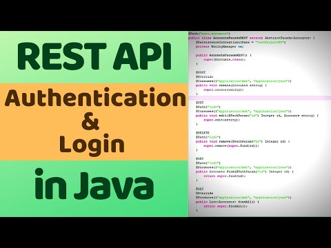 REST API Authentication In Java