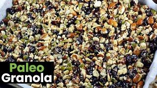 Deliciously Crunchy Paleo Granola