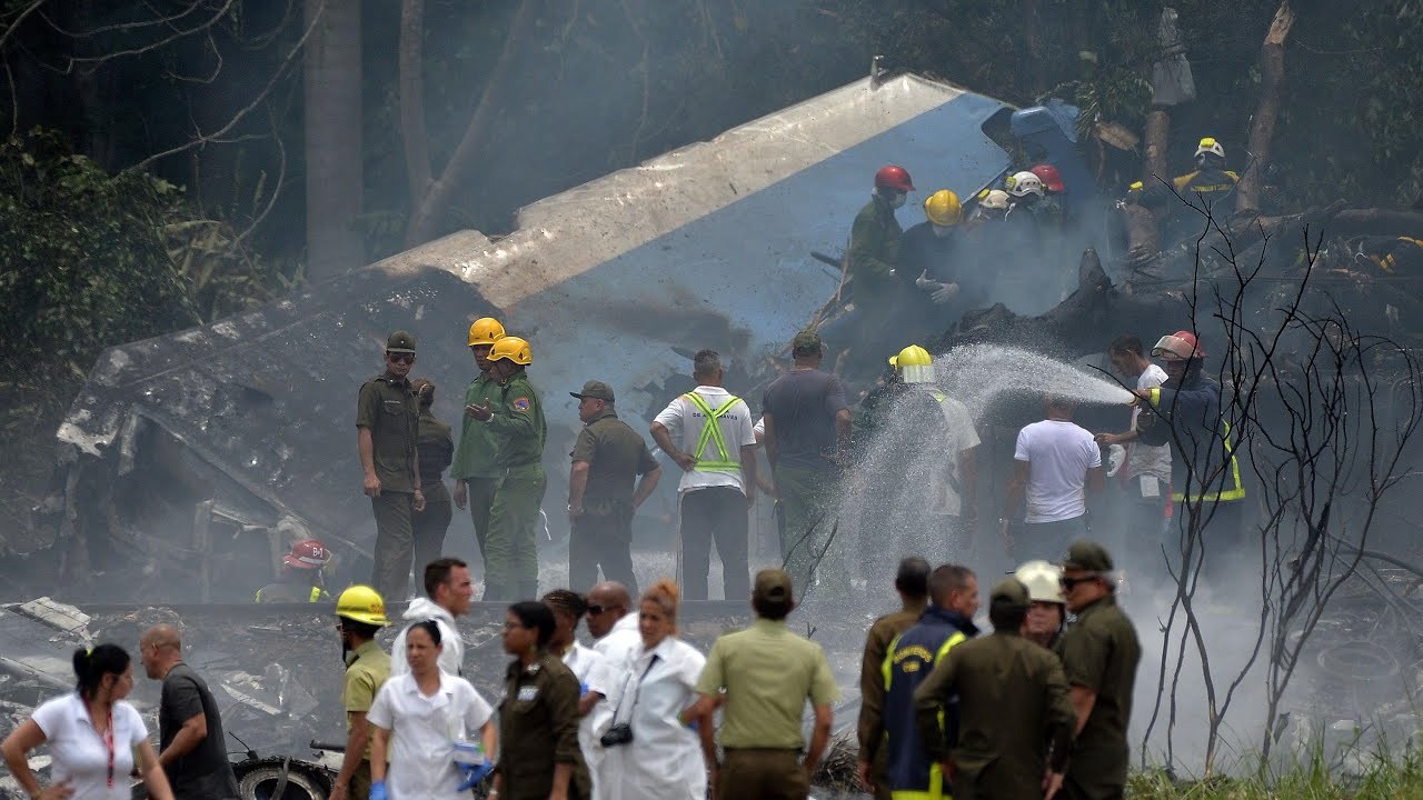 More than 100 are feared dead in jetliner crash in Cuba