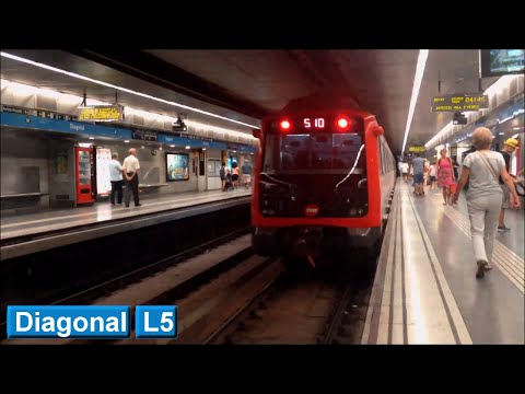 Metro de Barcelona : Diagonal L5 ( TMB 5000 )