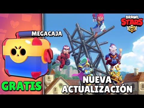 NUEVA ACTUALIZACIÓN DISPONIBLE ¡MEGACAJA GRATIS para TODOS HOY! BRAWL STARS