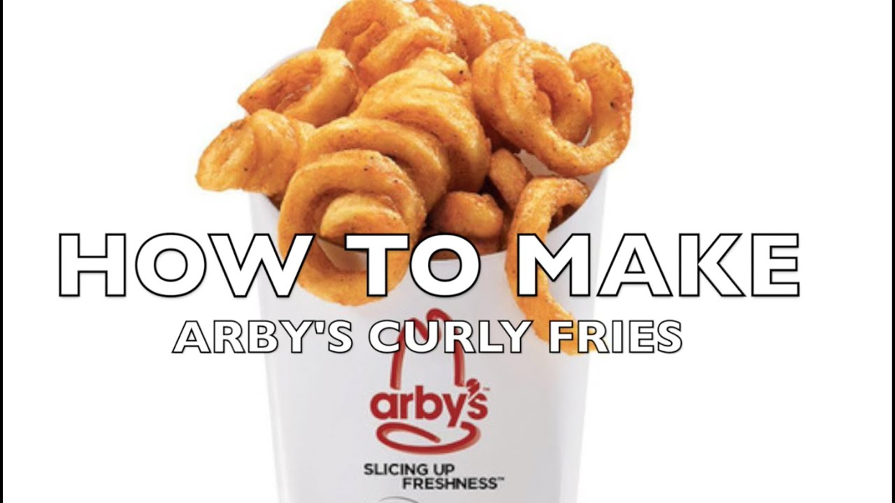 HOW TO MAKE Arbys Curly Fries SHORT