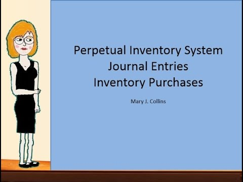 Perpetual System Journal Entries for Merchandise Company- Purchases
