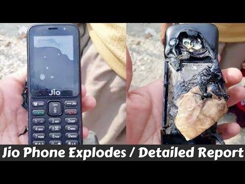 Jio Phone Explodes | Detailed Report | Telecom India
