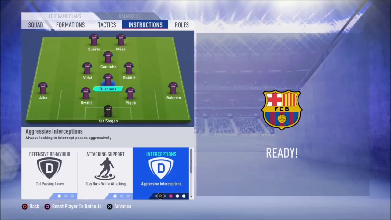 Fifa 19 Fc Barcelona Review Best Formation Best Tactics And