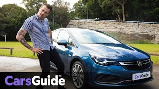 Holden Astra RS-V 2017 review: road test video