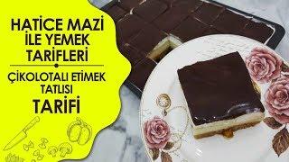 Hatice Mazı ile Yemek Tarifleri  Çikolotalı Etimek Tatlısı Tarifi