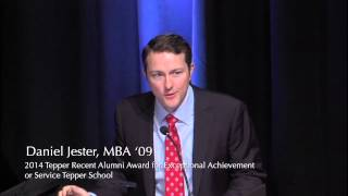 Daniel Jester, MBA '09 | Recipient of the 2014 Tepper School Recent Alumni Achievement Award