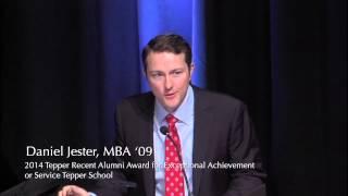 Daniel Jester, MBA '09 | Recipient of the 2014 Tepper School Recent Alumni Achievement Award