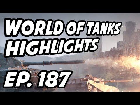 World of Tanks Daily Highlights   Ep. 187   QuickyBaby, skill4ltu, sirfoch, wgl_en, Cowboyofbebop