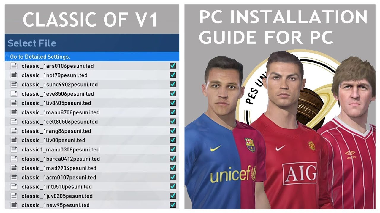 PES 2019   Classic Option File Installation Guide - PC