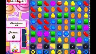 Candy Crush Saga Nivel 92 completado en español sin boosters (level 92)
