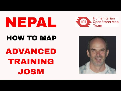 How To Map in OSM : Advanced training JOSM HOT Task #1062