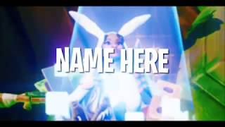 FREE FORTNITE INTRO!! (CUSTOM TEXT/NAME + DOWNLOAD IN DESC)