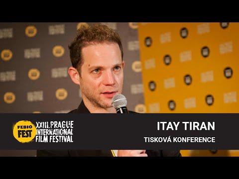 Itay Tiran | Tisková konference MFF Praha - Febiofest