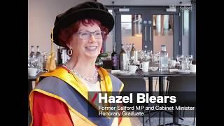 Summer Graduation 2019 - Honorary Graduate Hazel Blears