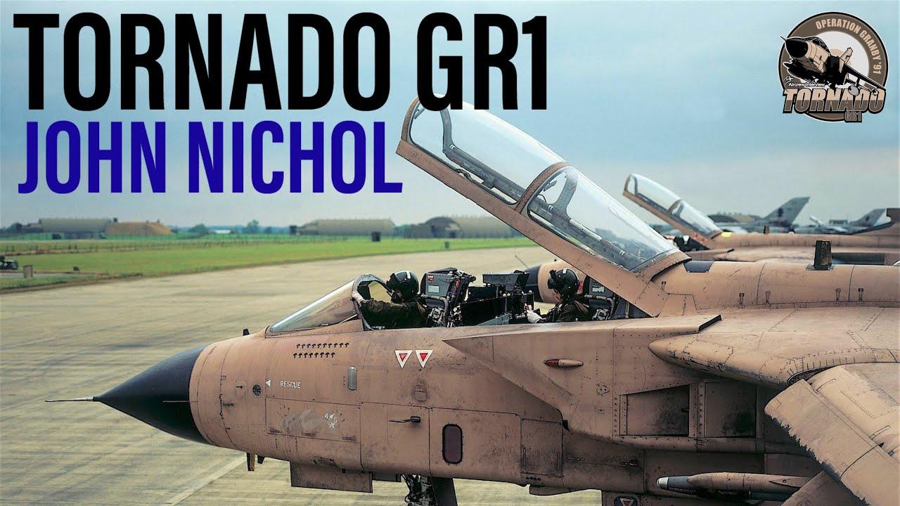 Flying the Tornado GR1   John Nichol (Full)