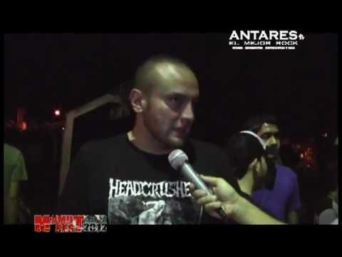 Entrevista Donny Rubiano - Producto General Rock Al Parque. Antares El Mejor Rock