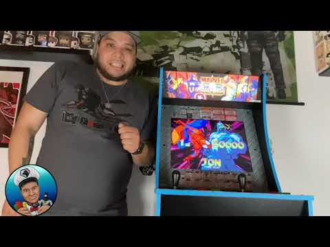 Marvel Vs Capcom 1UP Arcade Cabinet from Leche's Toy Box