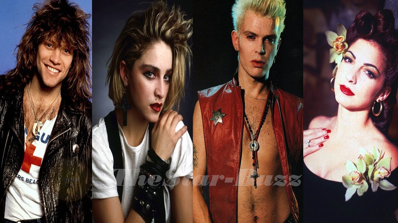 80s MUSIC STARS | 50  Music Stars From 80's Then and Now(Name and Age)