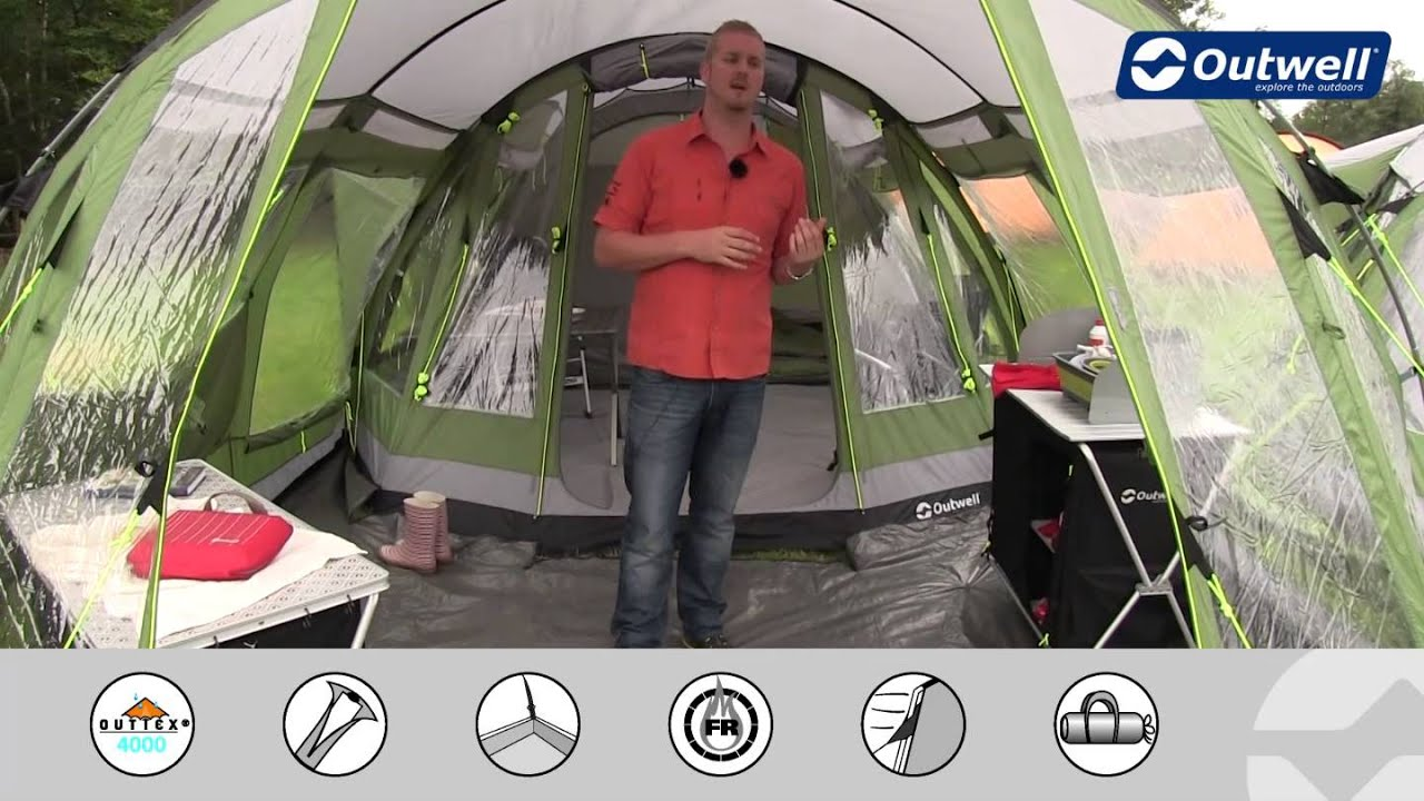 & Outwell Tent Nevada Front Awning (2013 model) - YouTube