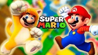 СУПЕР МАРИО КОТИК #1  мультик игра для детей Детский летсплей на СПТВ Super Mario World