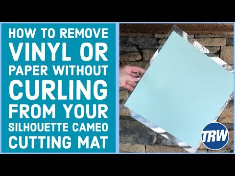 How To Remove Vinyl Or Paper Without Curling From Your
