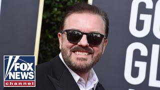 Media attacks Gervais over anti-Hollywood jokes