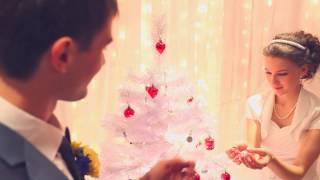 фотосессия зимней свадьбы в банкетном зале Виктория, Красноярск,ул.Авиаторов19 МВДЦ Сибирь