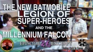 New Batmobile, Legion Of Super-Heroes & The Millennium Falcon | Reel News