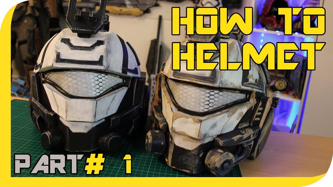 HOW TO: TITANFALL 2 Pulse Blade Pilot helmet Cosplay Prop ...
