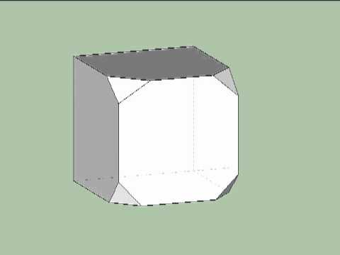 Point group symmetry of truncated cube, part 4