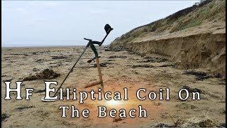 Xp Deus V4 HF Coil on the Beach